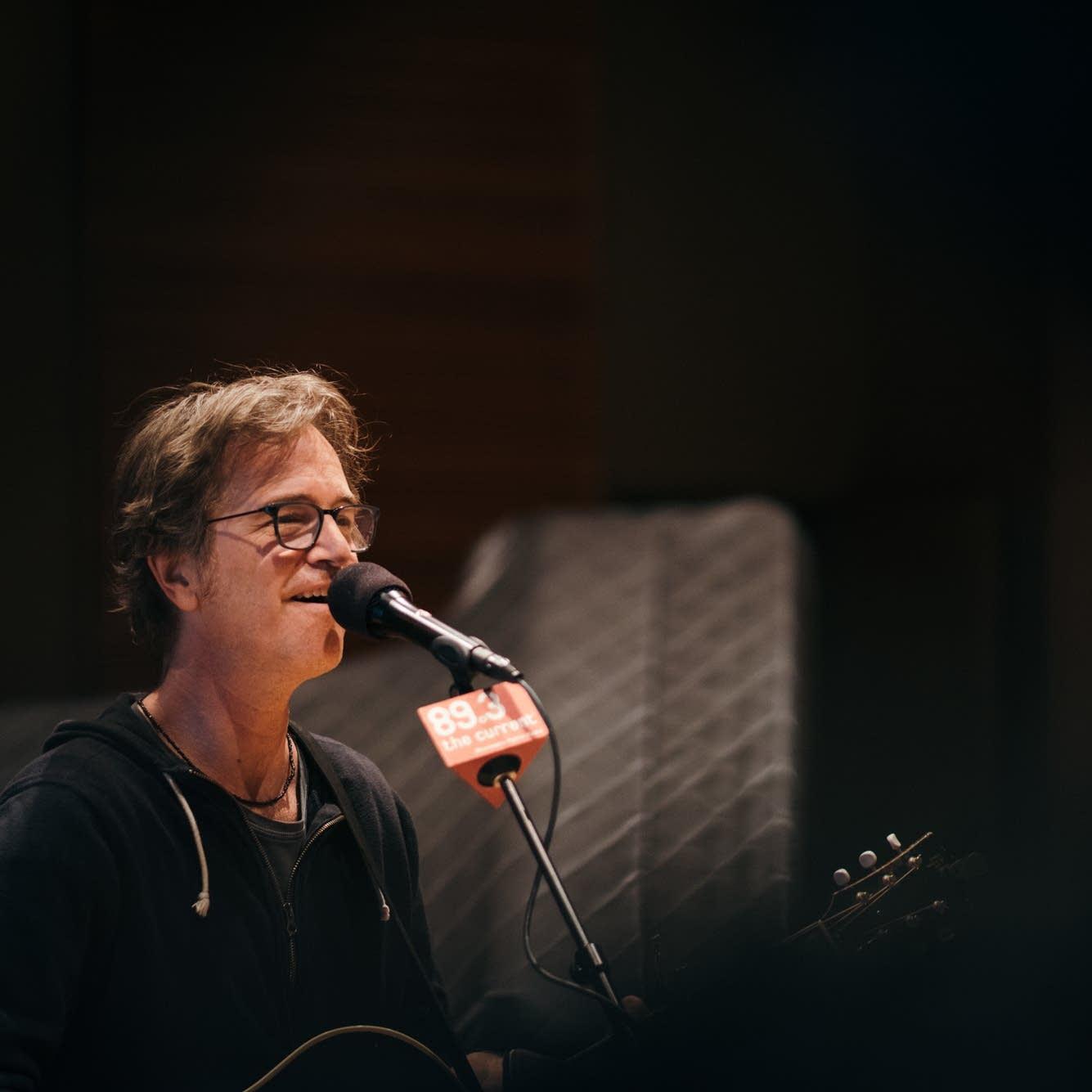 Dan Wilson performs in The Current studio