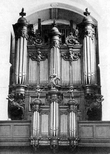1858 Cavaillé-Coll organ at the Church of Saint Jean, Elbeuf, France