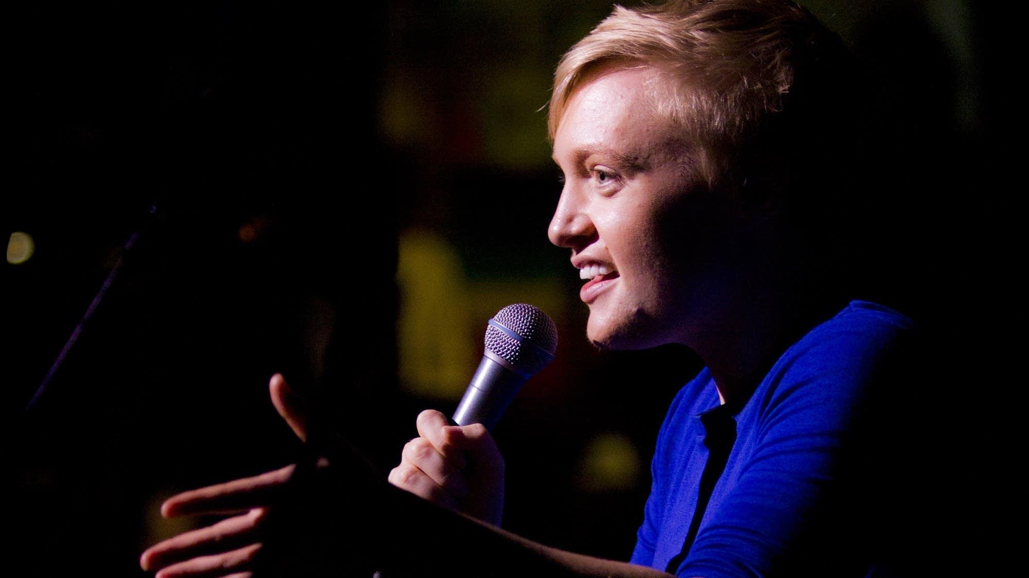 Comedian Emma Willmannn