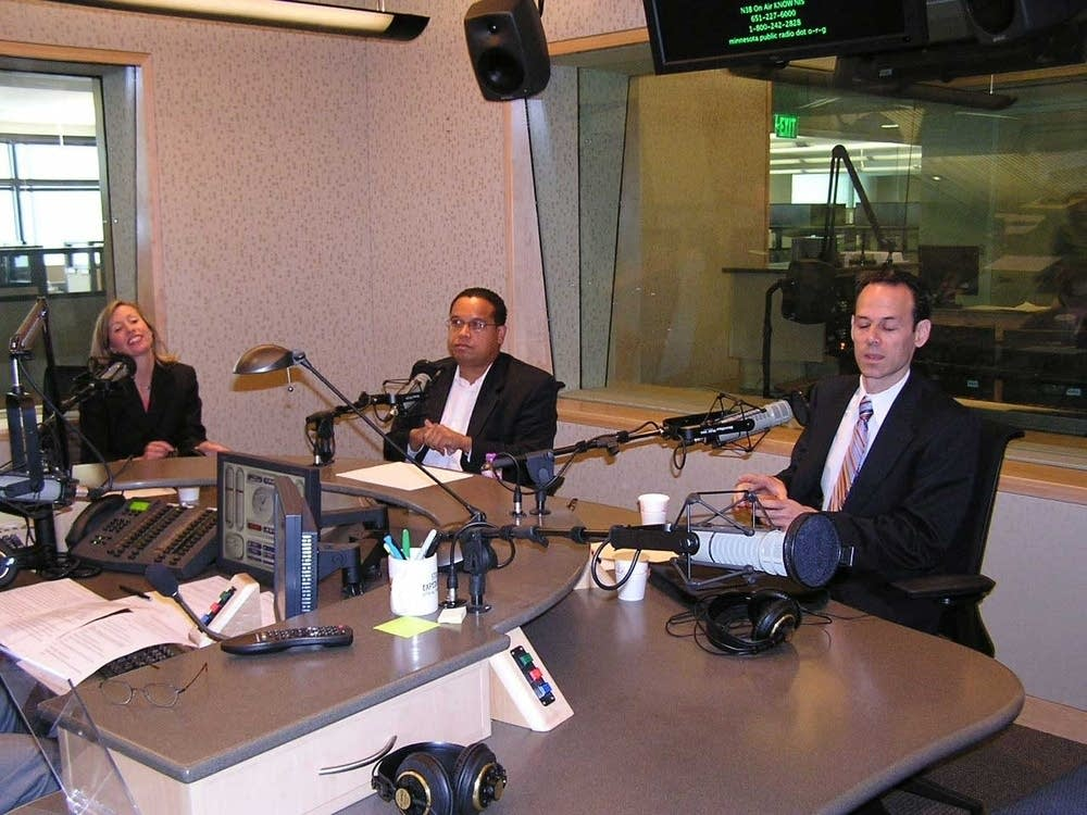 In studio debate