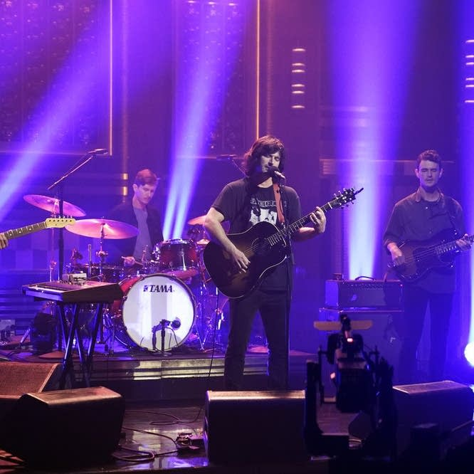 Pete Yorn performs on 'The Tonight Show Starring Jimmy Fallon'
