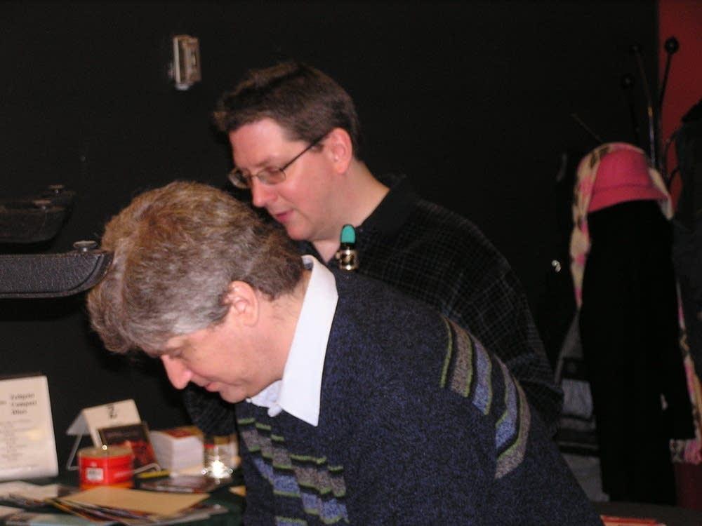 Justin Busch and Zeitgeist's Pat O'Keefe