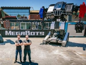 Matt Oehrlein and Gui Cavalcanti, co-founders of the robotics company.