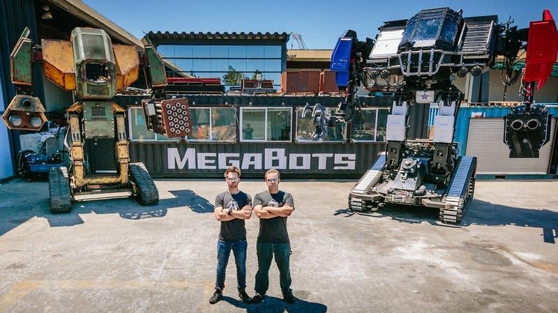 Matt Oehrlein and Gui Cavalcanti, co-founders of the robotics company.