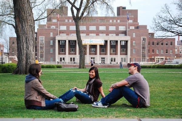 Students at U of M