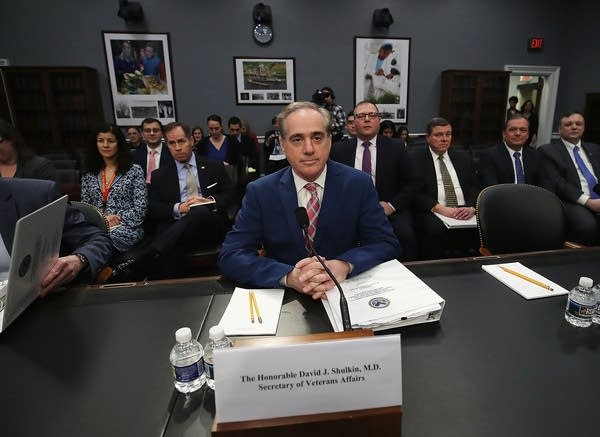 Veterans Affairs Secretary David Shulkin