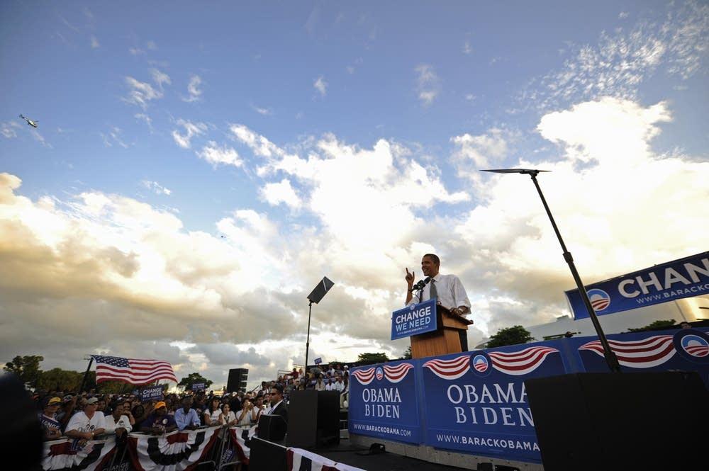 Barack Obama in Miami, Florida
