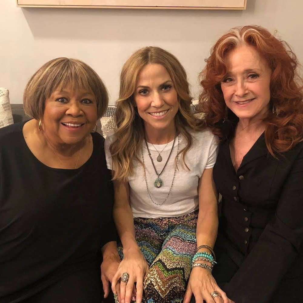 Mavis Staples, Sheryl Crow and Bonnie Raitt at The Ellen Show