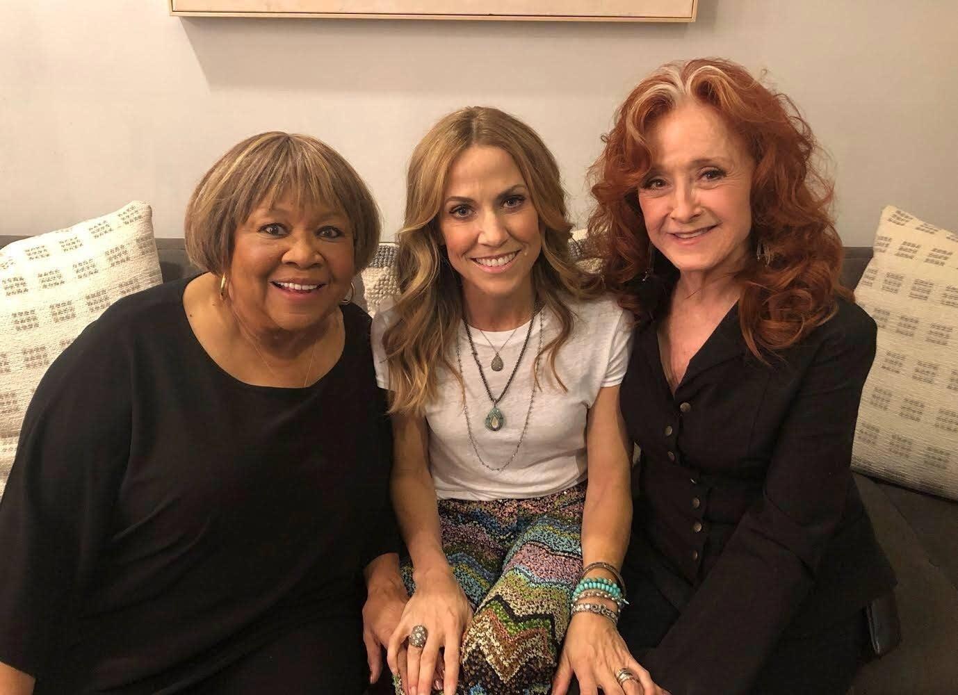 Mavis Staples, Sheryl Crow and Bonnie Raitt at The Ellen Show