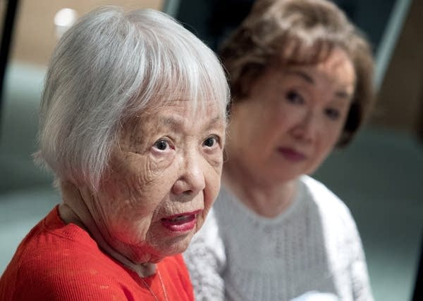 Twin Cities residents Lucy Kirihara, left, and Sally Sudo