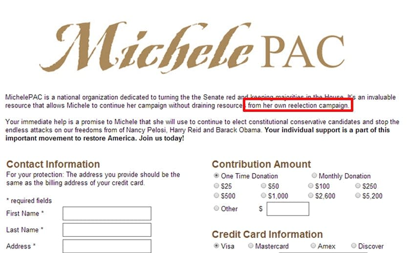 MichelePAC.com