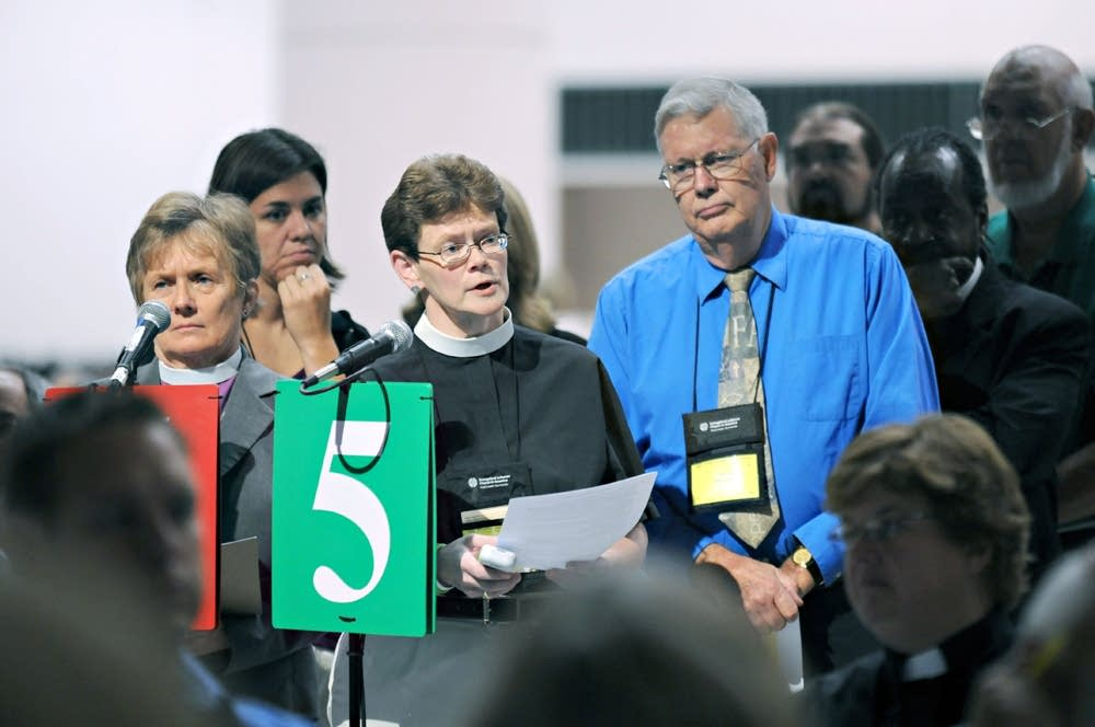 ELCA delegates
