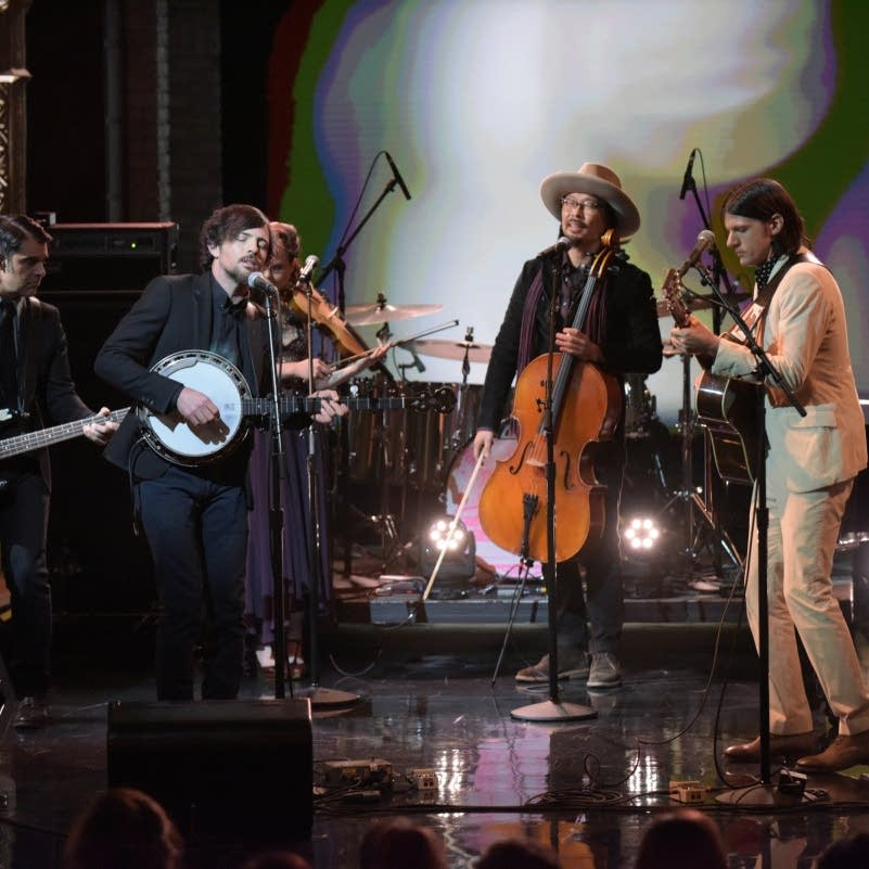 The Avett Brothers on the Late Show with Stephen Colbert