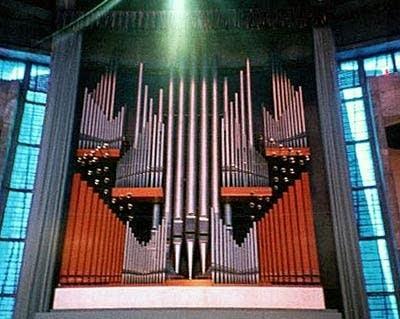 1967 Walker organ at Liverpool Metropolitan Cathedral, England, UK