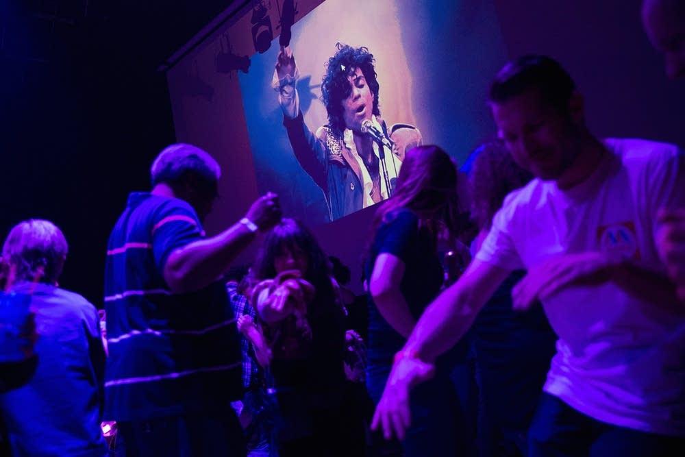 Dancing to Prince's music