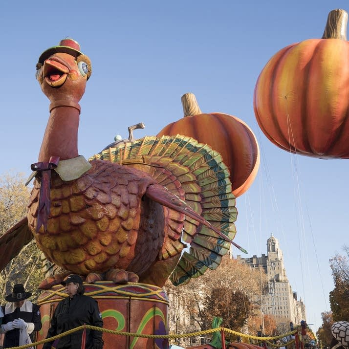 Macy's Thanksgiving Day Parade - Tom Turkey float