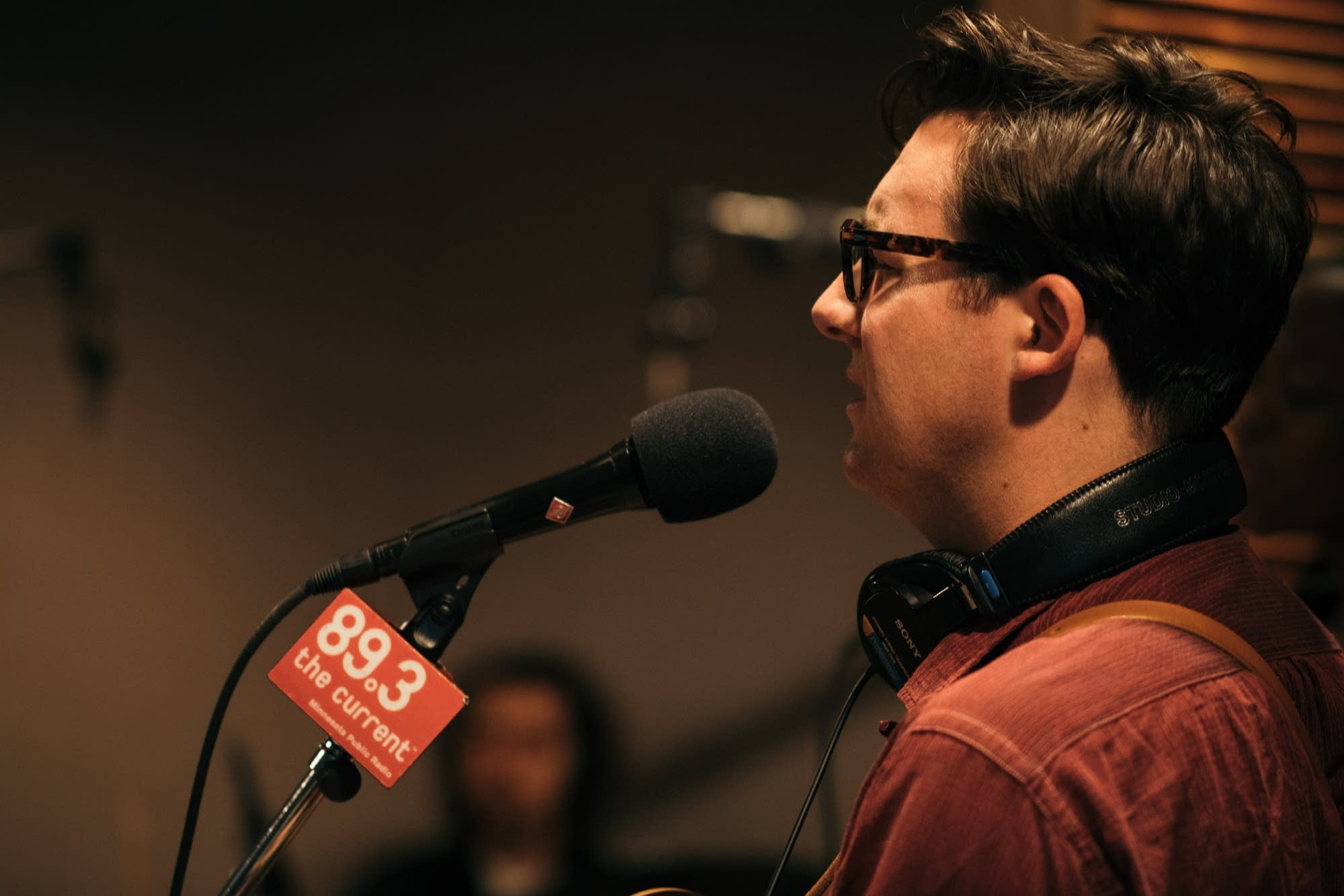 Nick Waterhouse performs in The Current studio