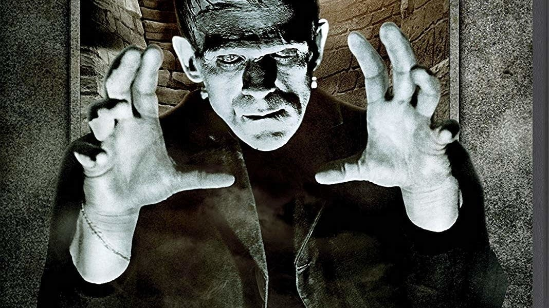 The 'Universal Classic Monsters' set includes eight 'Frankenstein' movies.