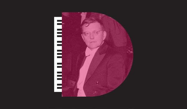 Decomposed episode about composer Shostakovich.