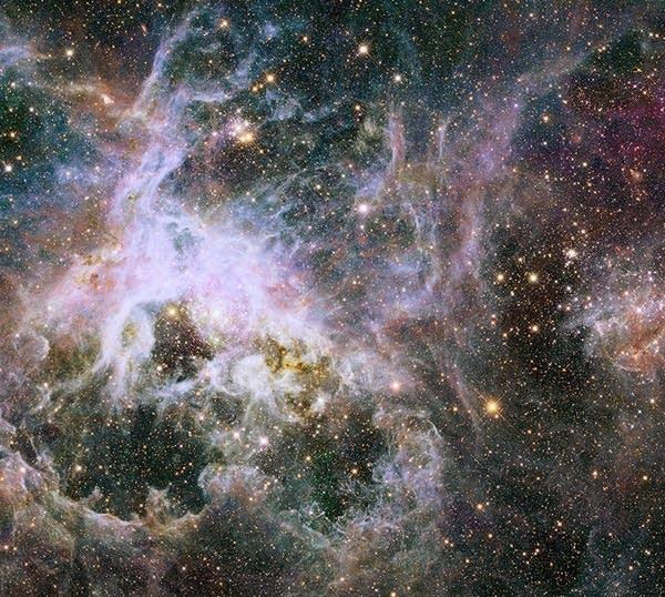 Hubble Space Telescope mosaic