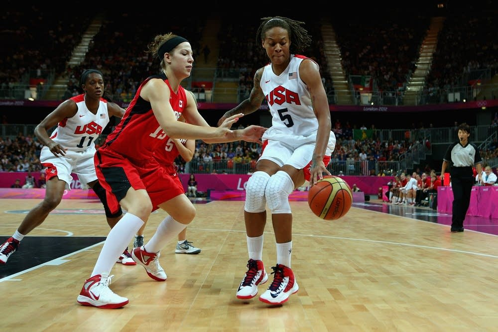 Seimone Augustus of the United States