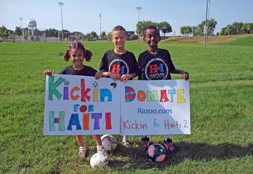 Kickin' for Haiti