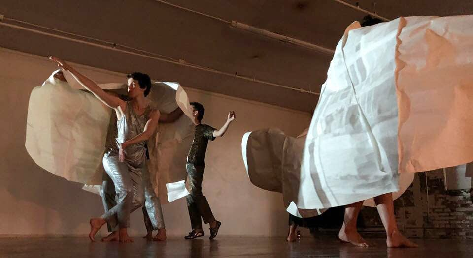 Members of Rosy Simas Danse rehearse