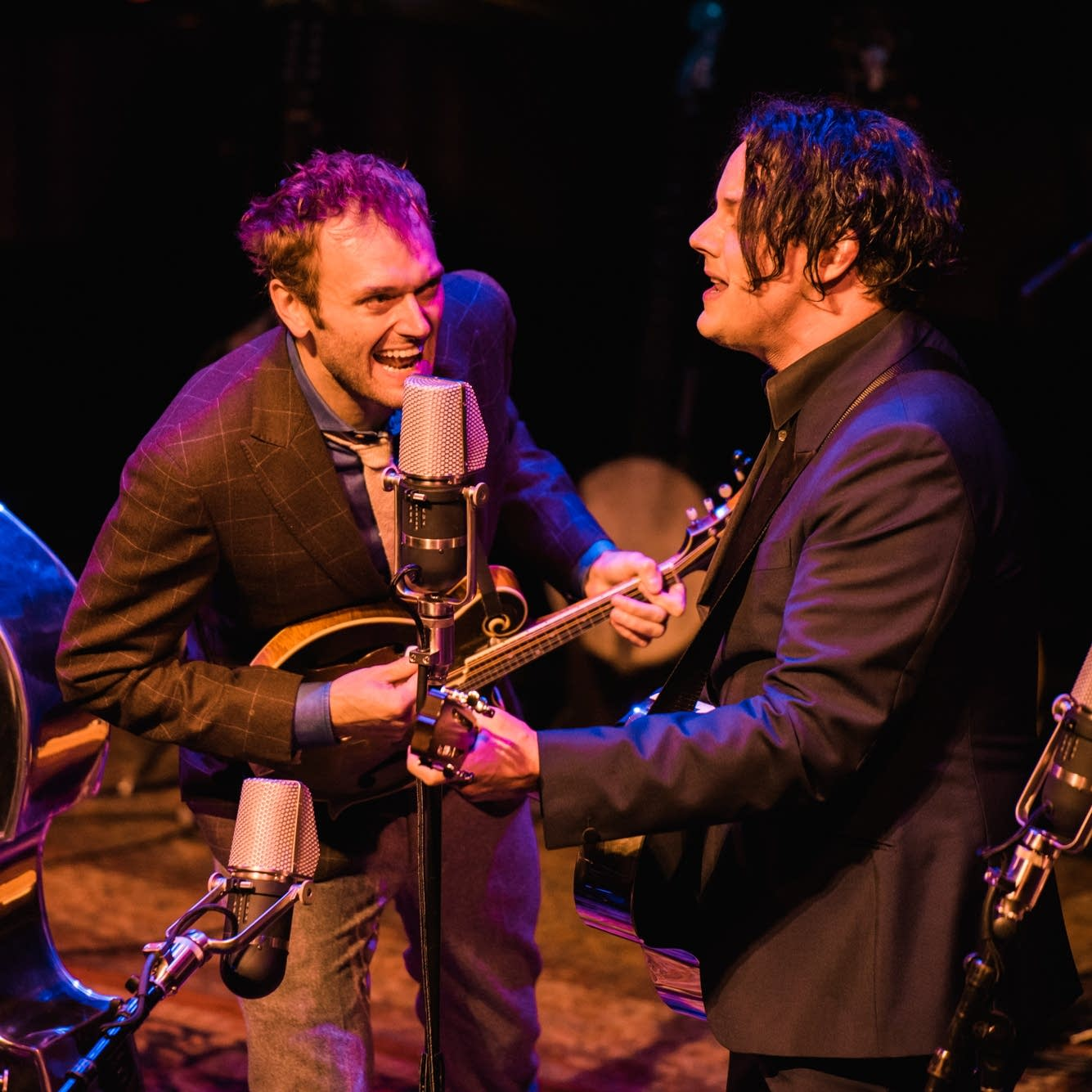 Chris Thile and Jack White