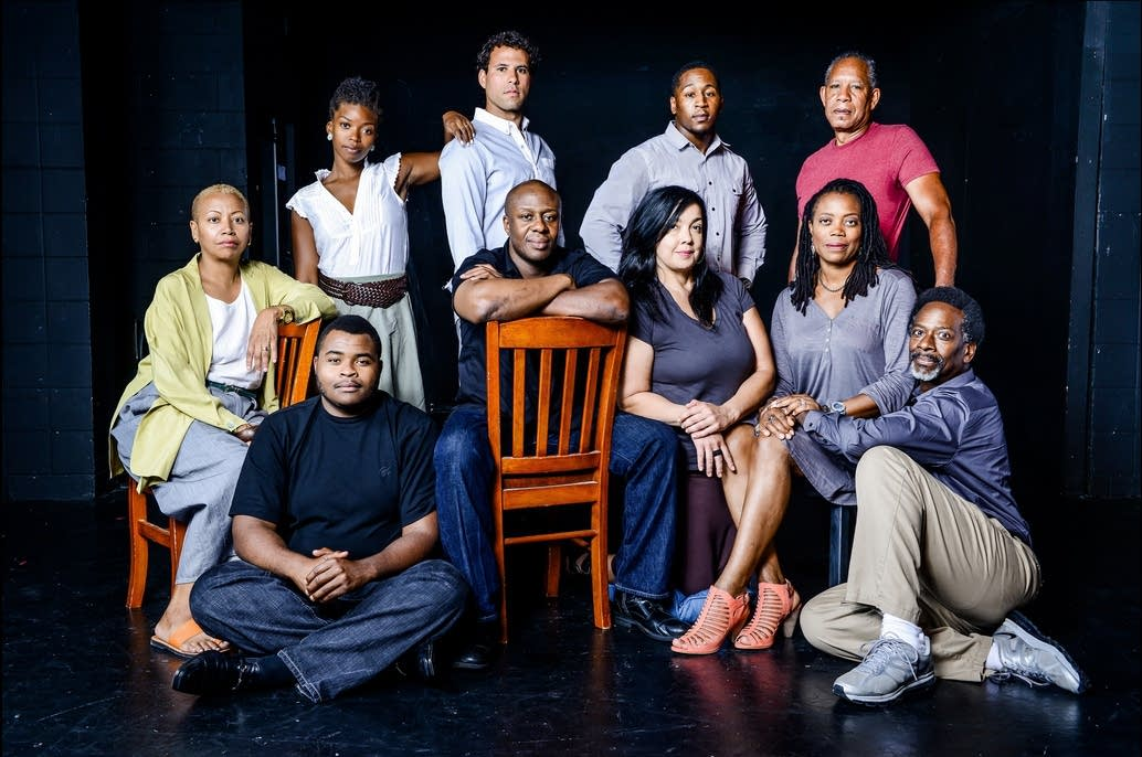 the road weeps the well runs dry, cast photo