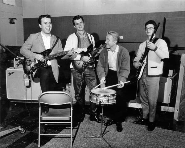 The Trashmen at Kay Bank Studio