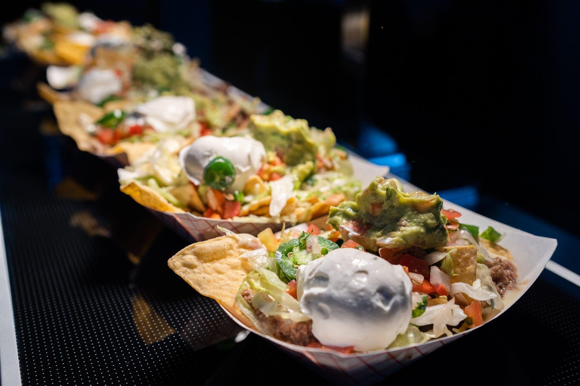 Los Ocampo's gourmet beef nachos
