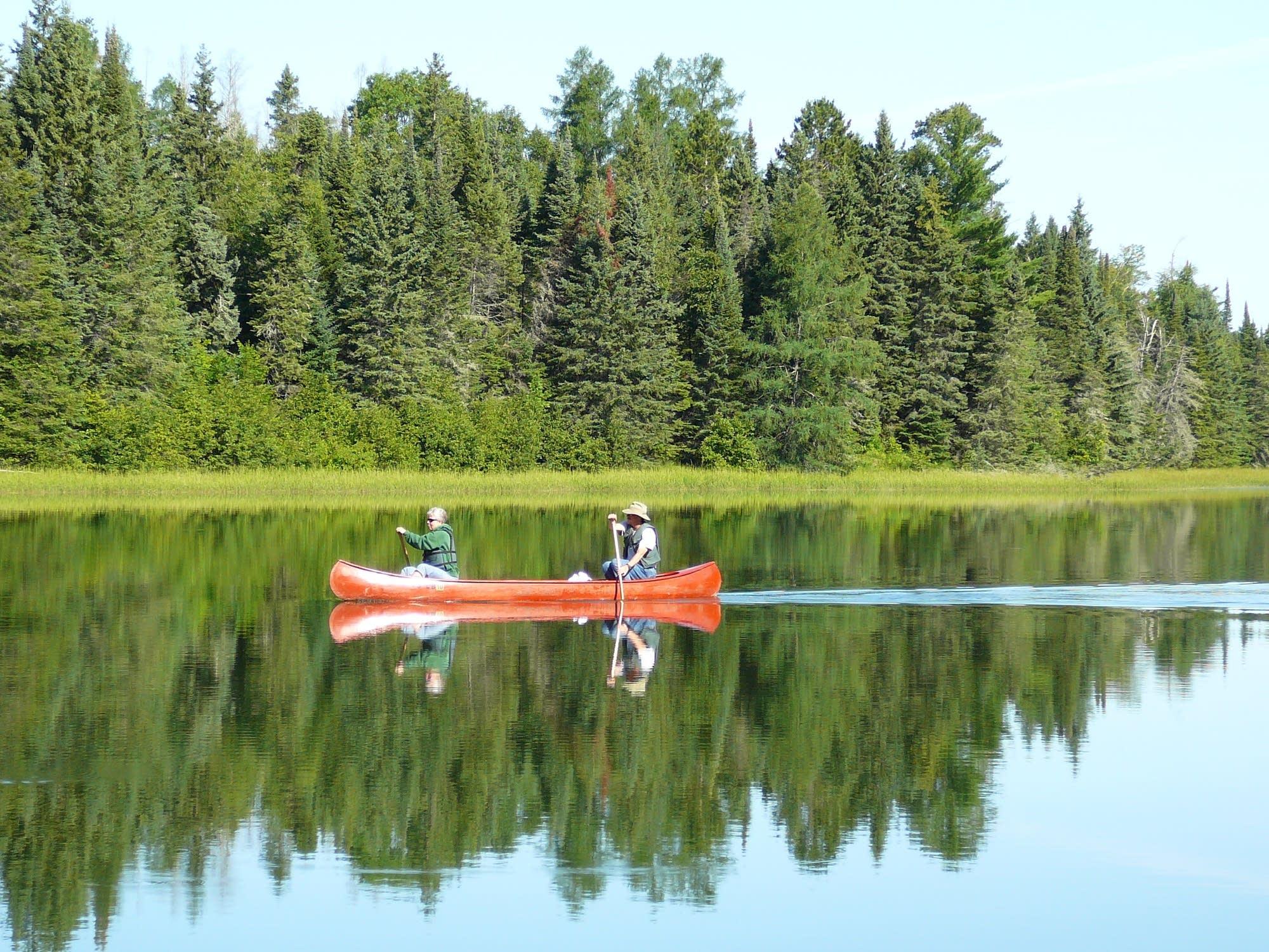 canoe lake itasca state park