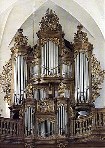 1987 Marcussen & Søn organ at the Cathedral, Odense, Denmark