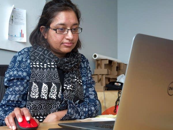 NDSU asst. professor Malani Srivistava