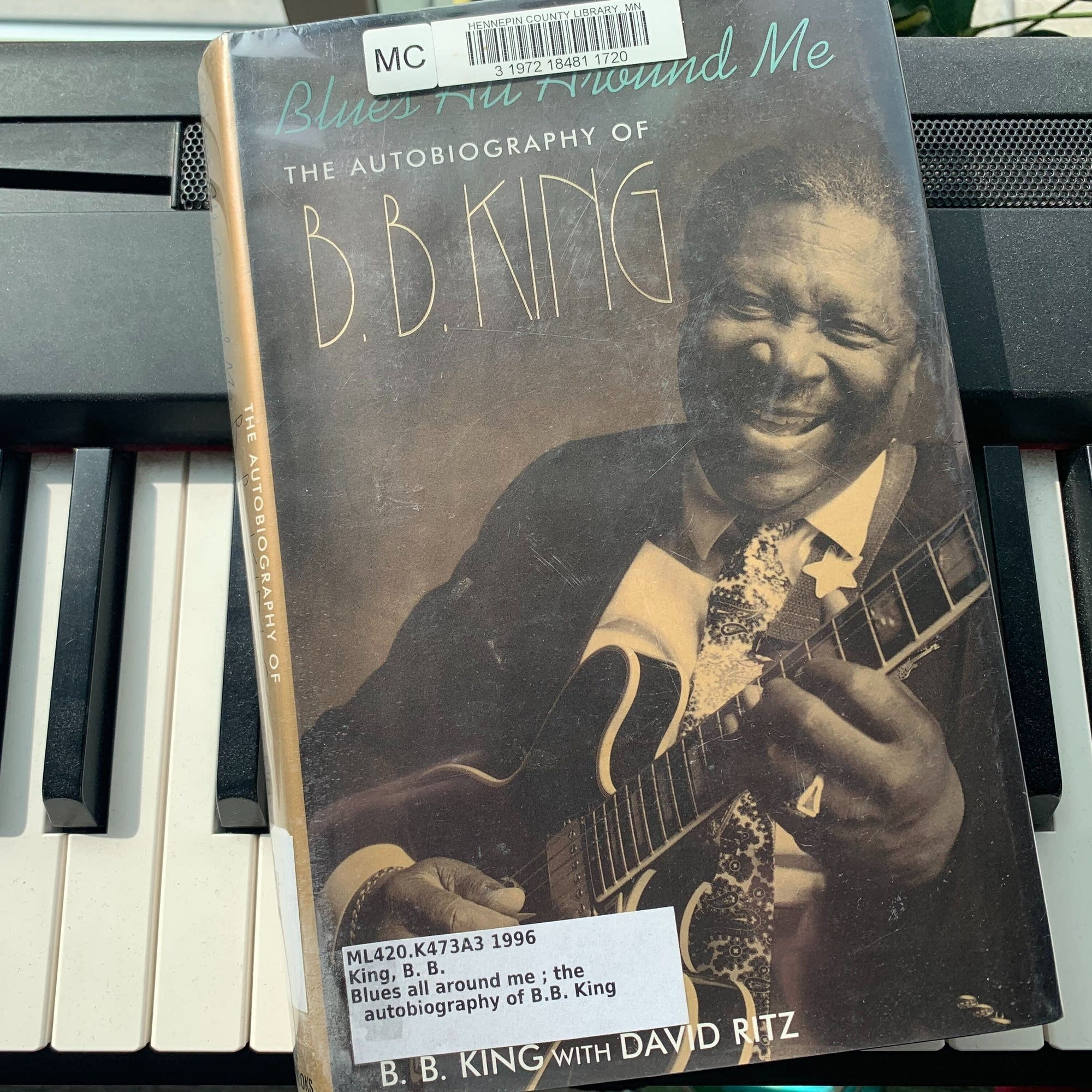B.B. King's 'Blues All Around Me.'