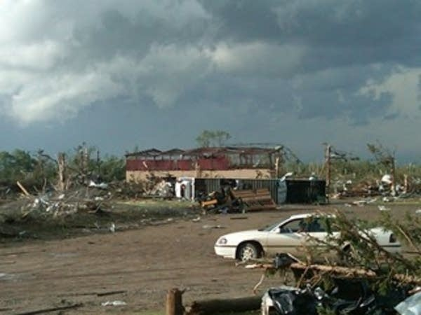 Wadena tornado damage