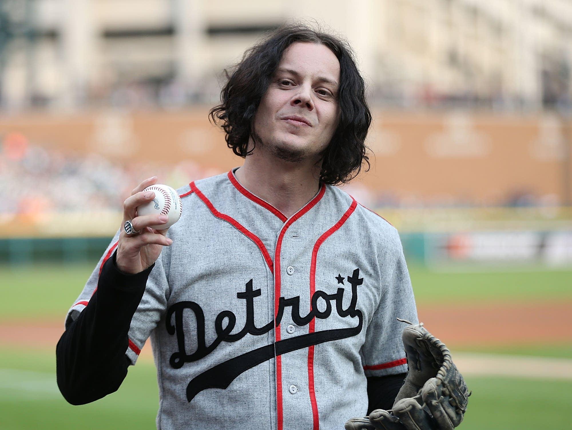 Jack white detroit baseball