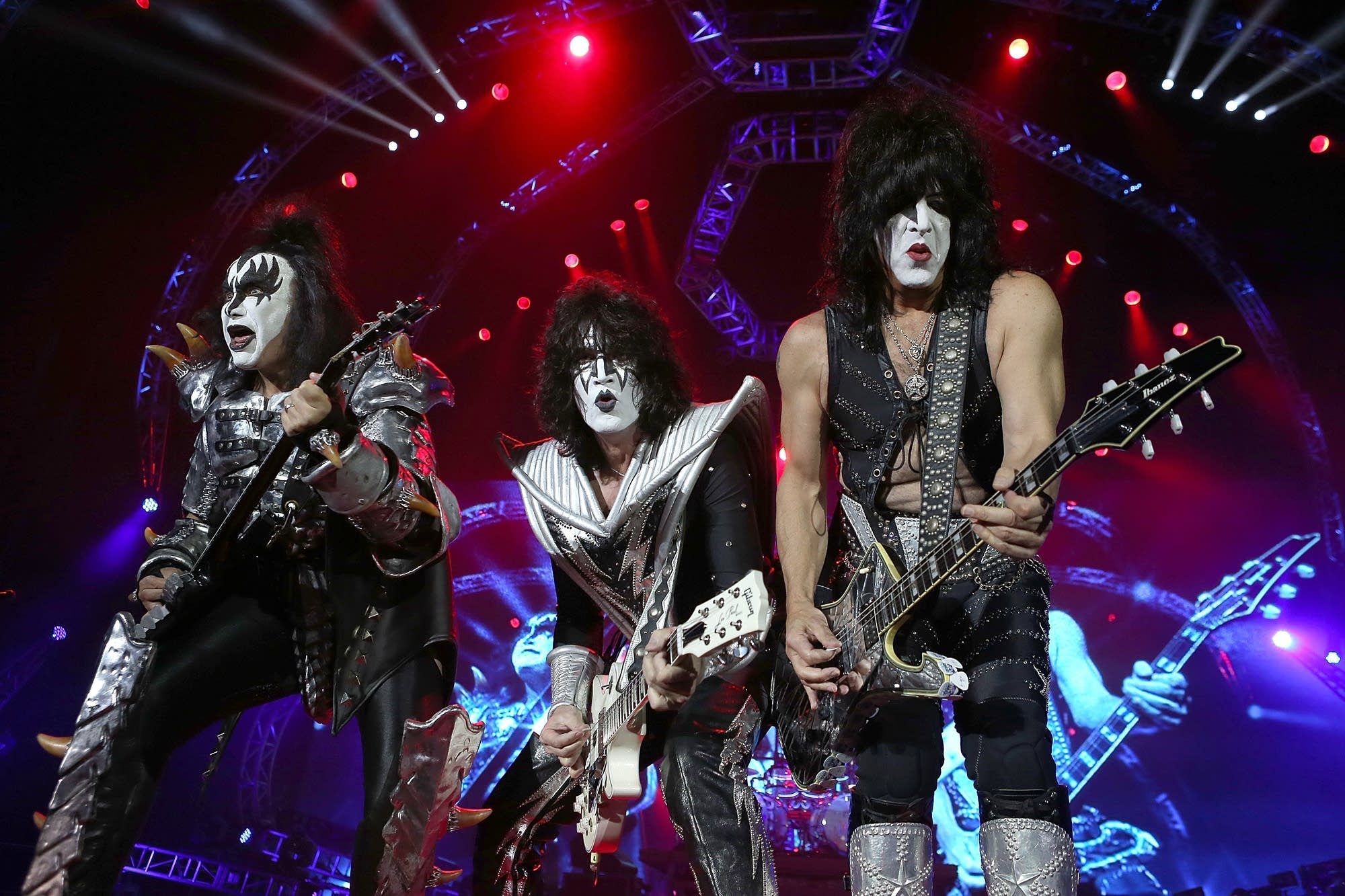 KISS was one of the bands targeted by the Peters Brothers.
