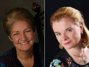 Marcy Rosen, cello; Lydia Artymiw, piano