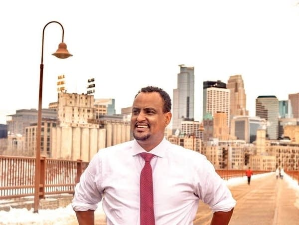 Haji Yussuf challenges Rep. Ilhan Omar in the 5th District election.