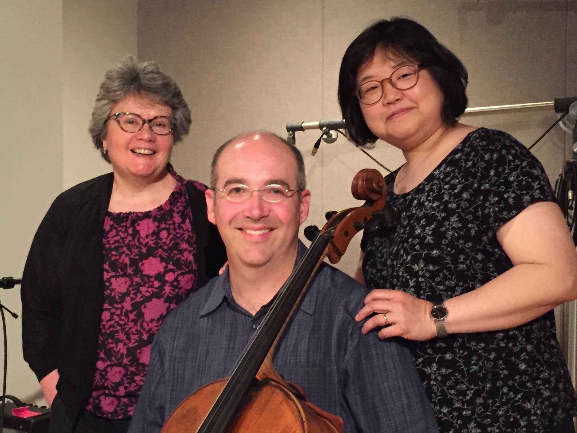 Anna Clift, Mark Kosower and Jee-Won Oh