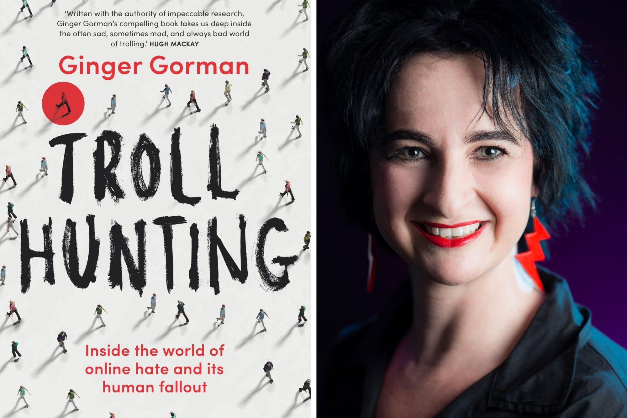 Ginger Gorman, author of 'Troll Hunting'