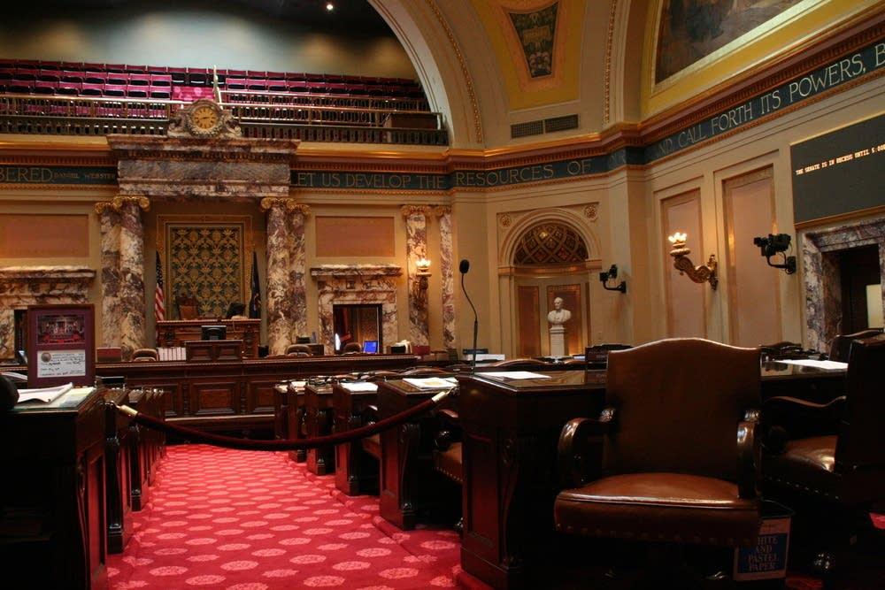 The Minnesote Senate chambers