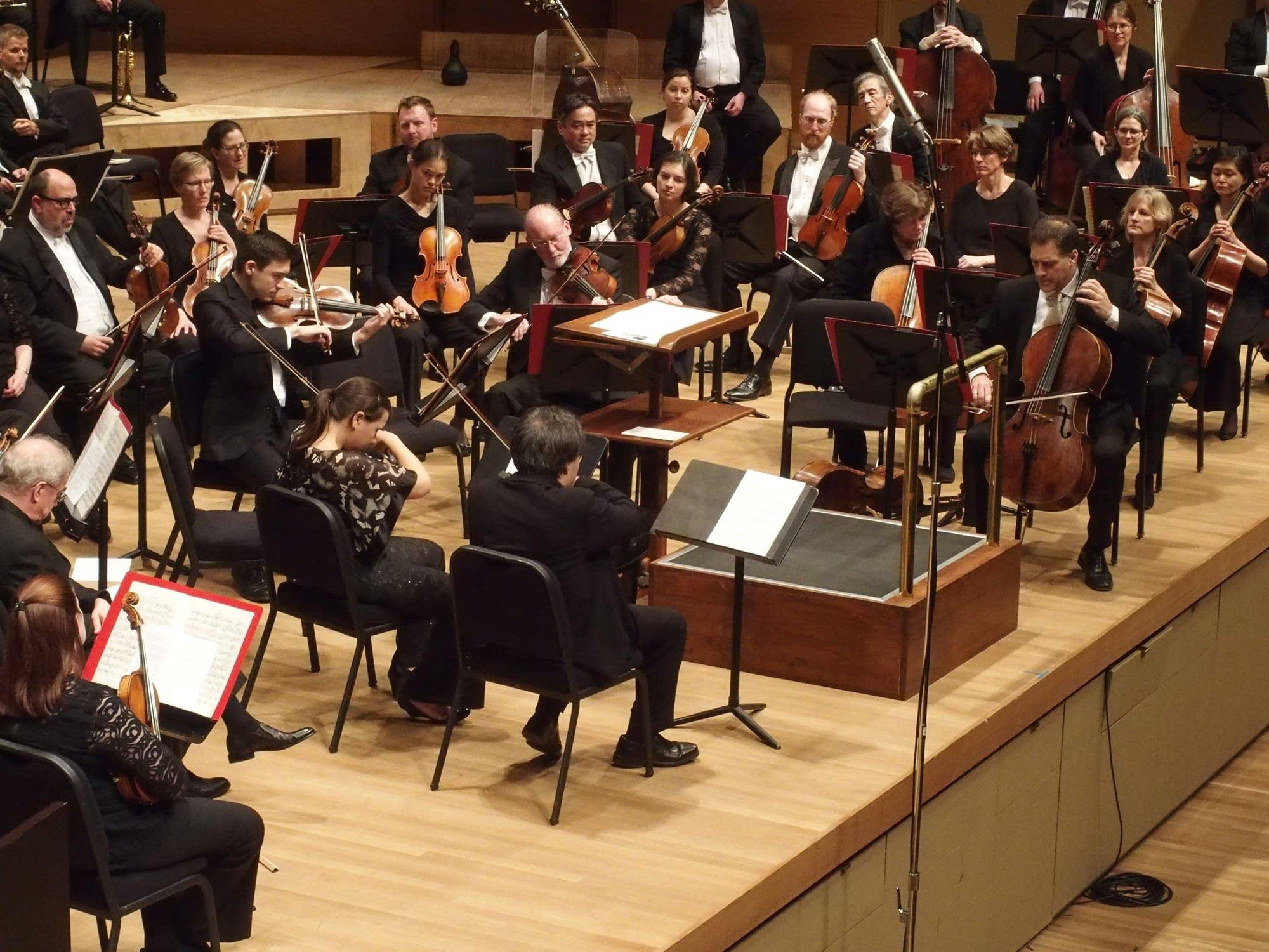 Chamber Music Society of Minnesota played Skrowaczewski's 'For Krystyna'
