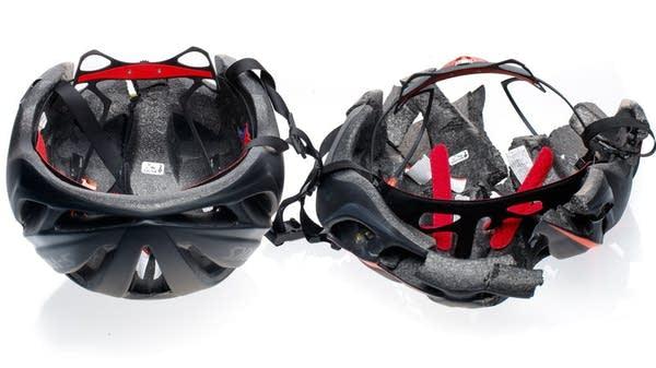 Counterfeit bike helmets