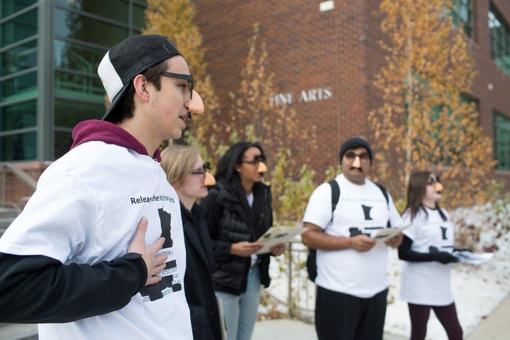Student opposition