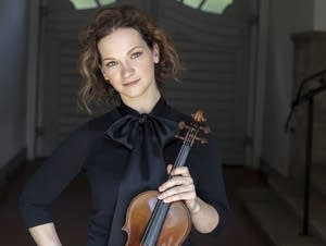 Hilary Hahn revisits the music of Bach on her latest release