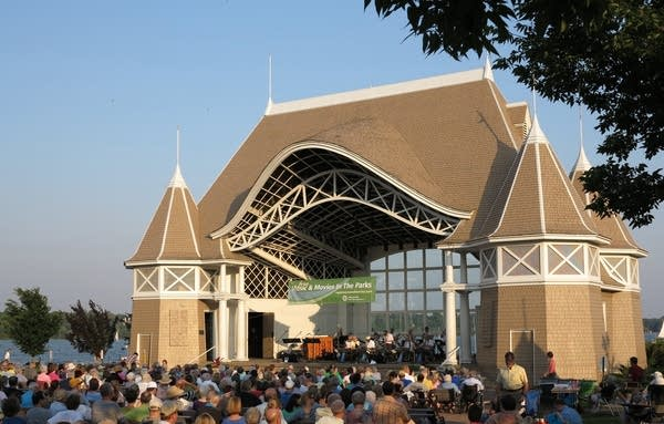 The Lake Harriet Bandshell