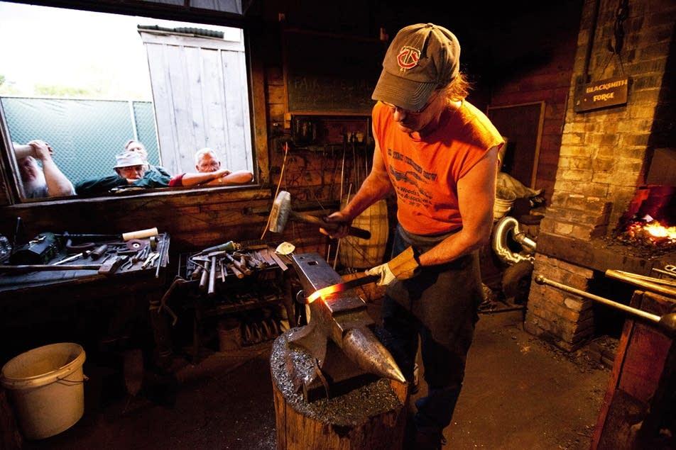 19th-century blacksmithing