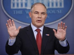Environmental Protection Agency Administrator Scott Pruitt